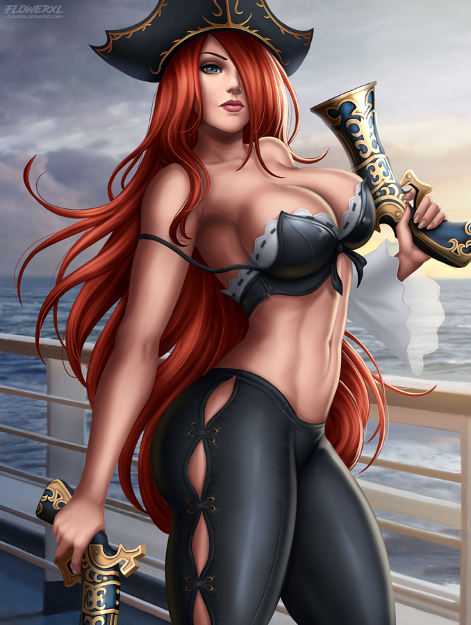 Nackt fortune lol miss Miss Fortune